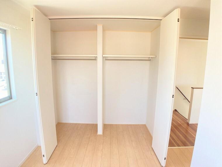 収納 荷物が多くても収納がたくさんありますのでお部屋もスッキリ!