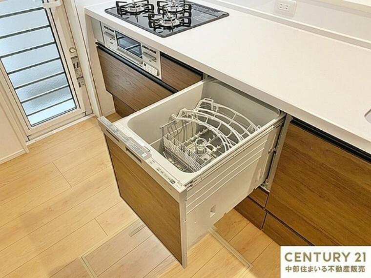 キッチン 食器洗い乾燥機 食後の家事負担軽減だけでなく節水にも役立ちます!