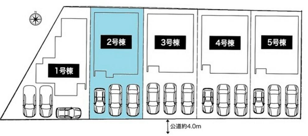 現況写真 敷地面積:132.24平米 駐車3台可能です!