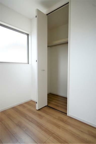 子供部屋 各お部屋収納スペースも充実。お部屋を広く快適に保てます。