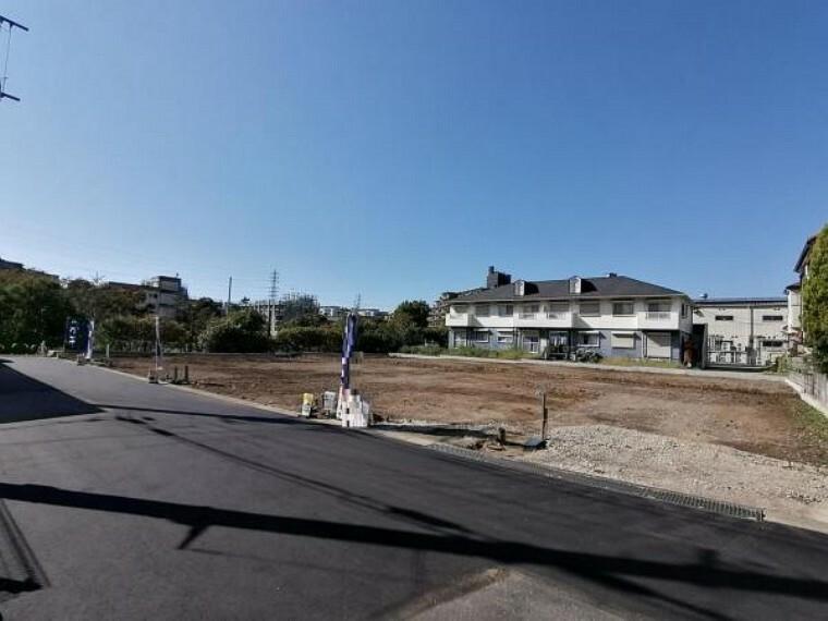 現況外観写真 「作草部」駅徒歩18分に8区画の新築戸建の登場です!
