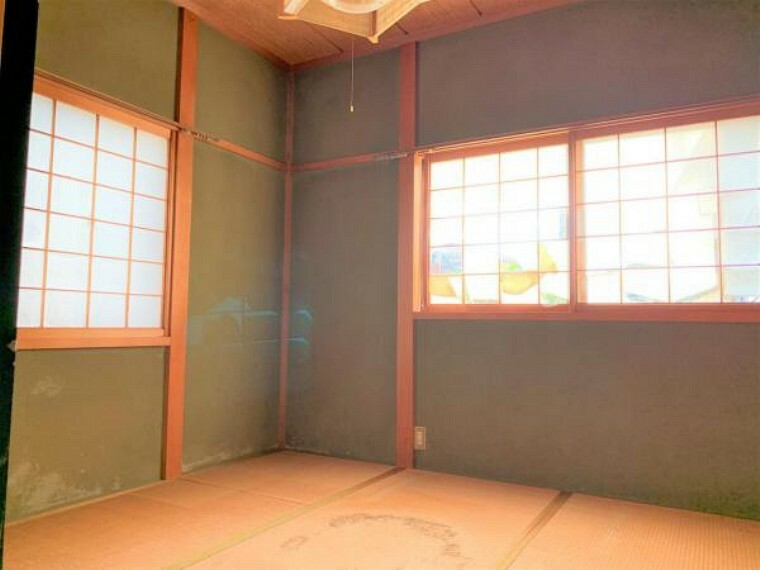 【リフォーム中】1F和室4.5帖は洋室5.5に間取り変更、フロア張替え、クロス張替え、クローゼット新設、照明交換、建具交換を予定しております。ご夫婦の寝室や趣味のお部屋、書斎などにいかがでしょうか。