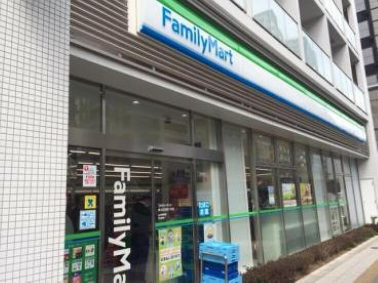 コンビニ 【コンビニエンスストア】ファミリーマート 東五反田四丁目店まで127m