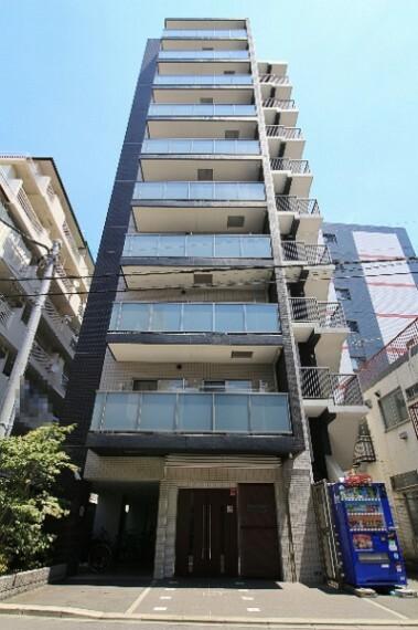 外観写真 大切なペットと一緒に暮らせます 10階建て最上階角部屋 宅配ボックス・オートロック完備 住宅ローン減税適合物件
