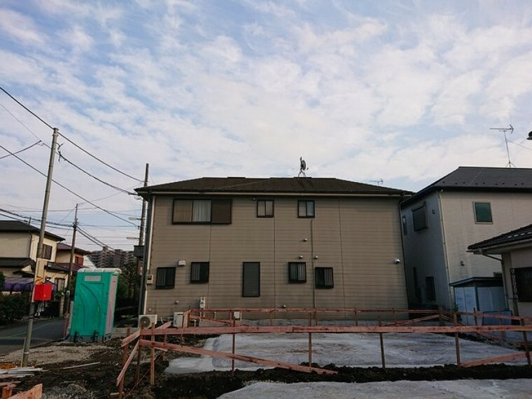 現況外観写真 ここからどんなお家が建つのか楽しみですね。