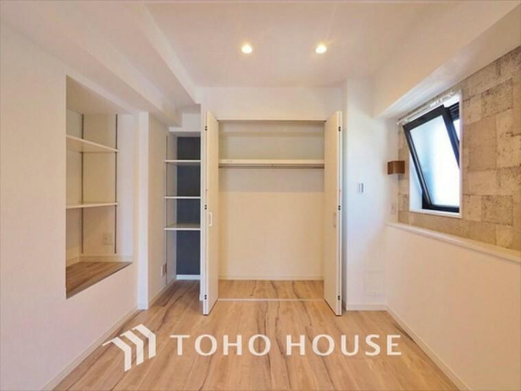 洋室 【ROOM】落ち着き居室はプライベートな空間。その言葉にピッタリなお部屋。