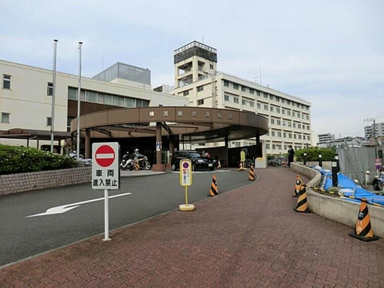 病院 横浜南共済病院(内科、小児科、循環器科、外科、産婦人科などの診療科があります。人間ドックや健康診断も行っています。)