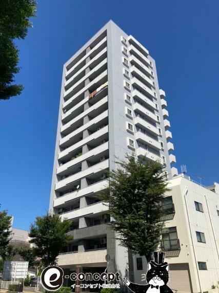 外観写真 福島駅まで徒歩6分! 開放的な立地です!