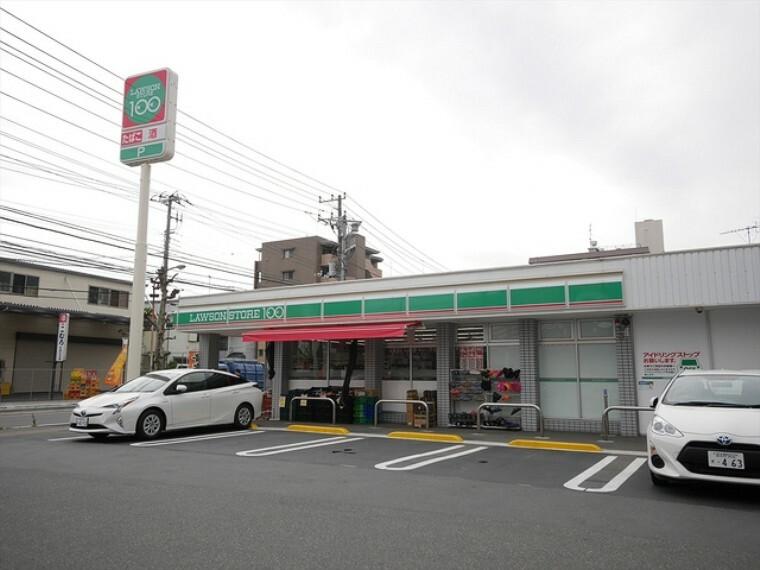 コンビニ ローソンストア100本中山店