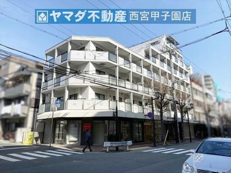 外観写真 JR「芦屋」駅より徒歩3分 周辺施設充実しております。