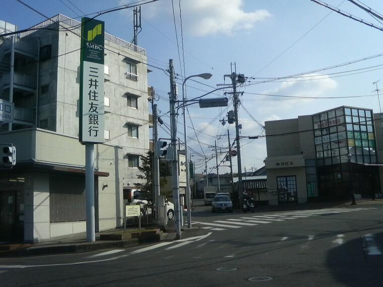 【その他】朝和口交差点まで820m