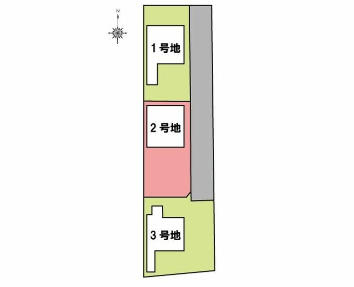 土地図面 土地  144.84平米(約43.81坪)