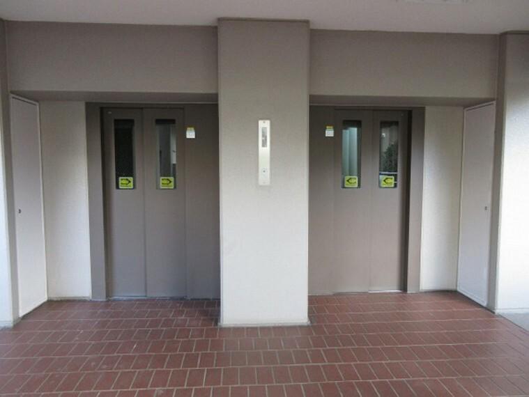 シニアも安心のエレベーター付/エレベーター停止階