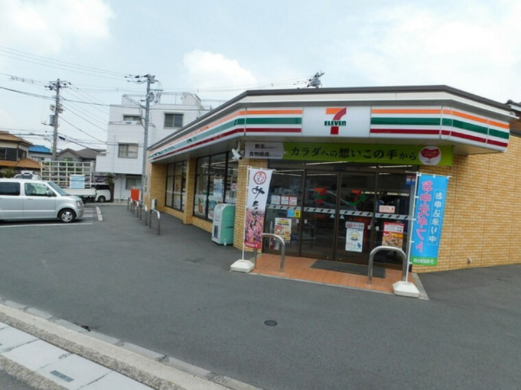コンビニ セブンイレブン鶴ヶ島東店