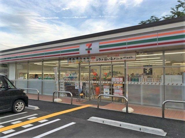 コンビニ セブンイレブン四街道大日桜ケ丘店 徒歩5分。