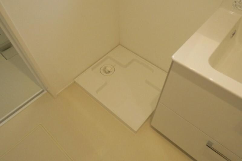 ランドリースペース 洗濯機防水パンがあります。