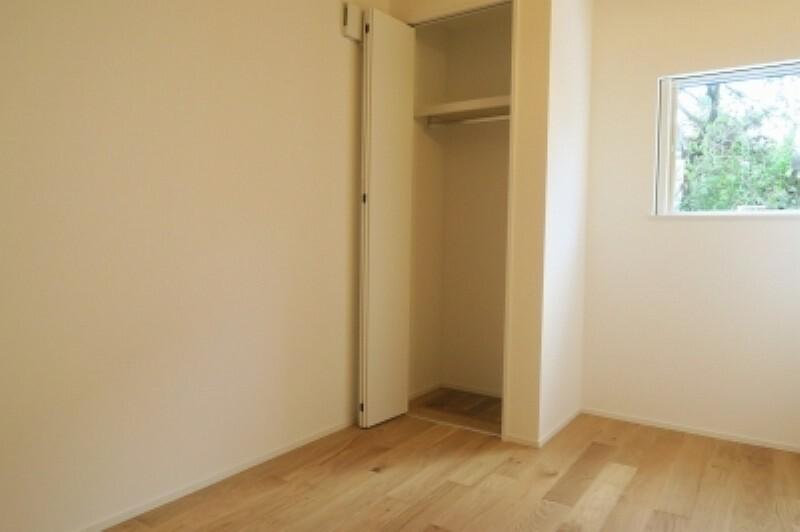 洋室 部屋ごとに設けた収納は、住みやすさへのこだわり。