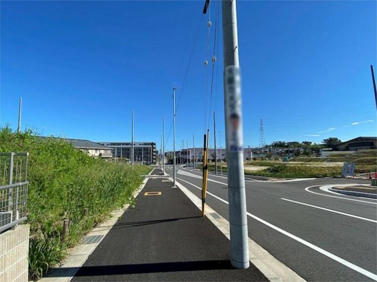 現況写真 前面道路 東側公道