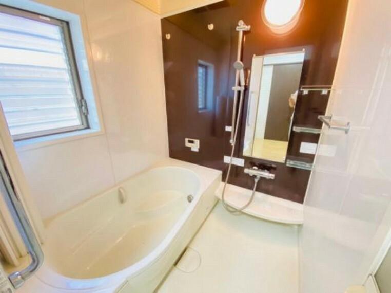 浴室 1日の疲れを癒すバスルームは足を伸ばして入浴できるワイドサイズです!