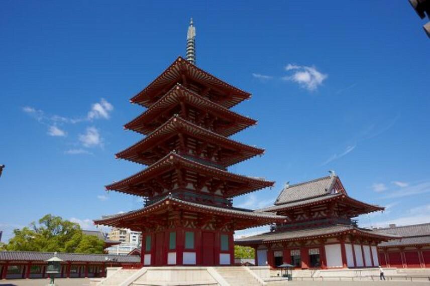 【寺院・神社】和宗 総本山 四天王寺まで2018m