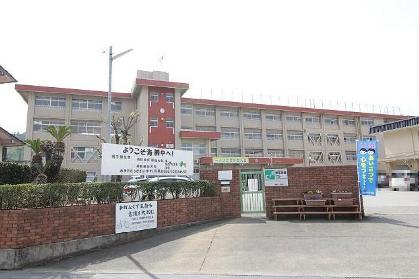 中学校 【中学校】青柳中学校まで1818m