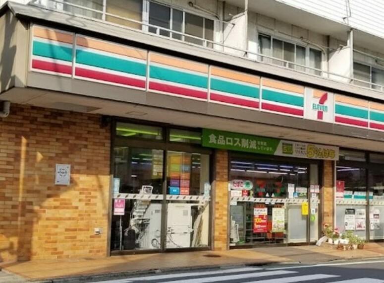 コンビニ セブンイレブン 目黒油面店