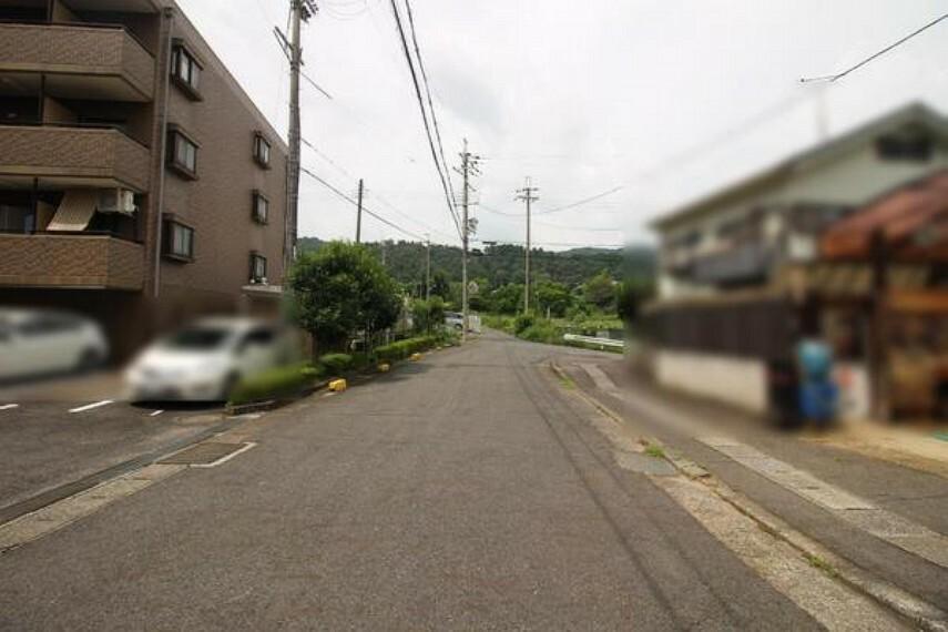 現況写真 前面道路幅員約6m