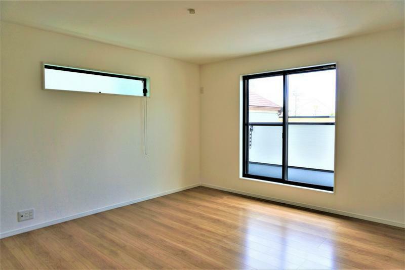 洋室 【施工事例:洋室】やさしい光と風通しの良いお部屋、爽快感のある居心地の良い空間となります。