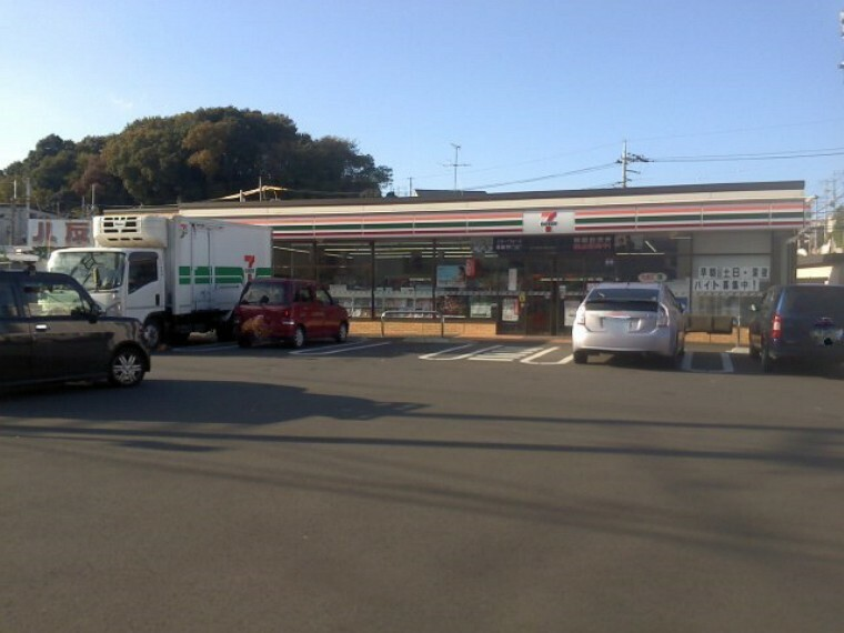 コンビニ 【コンビニエンスストア】セブンイレブン 横浜八反橋店まで350m