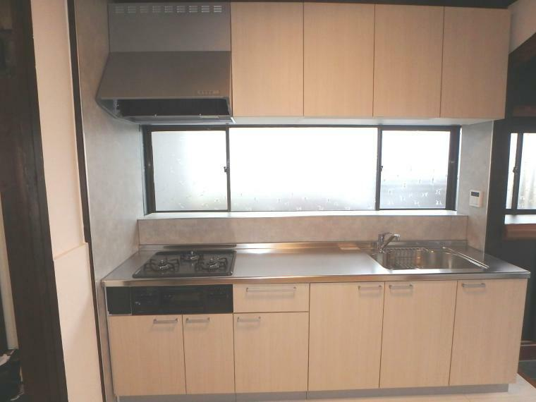 キッチン 大容量のキッチン収納!