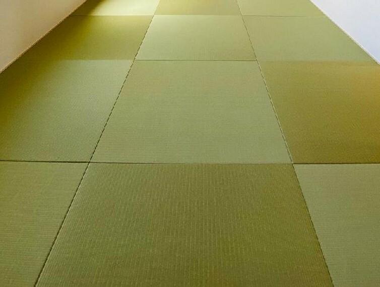 E号棟 和室~同仕様・同形状画像~・・・和室は6帖の広さがあり、通常時はリビングの延長として、来客時は客間としてなど自由にお使いいただける居室です。