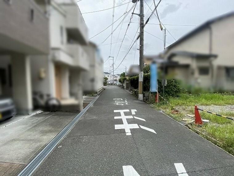 現況写真 前面道路含む