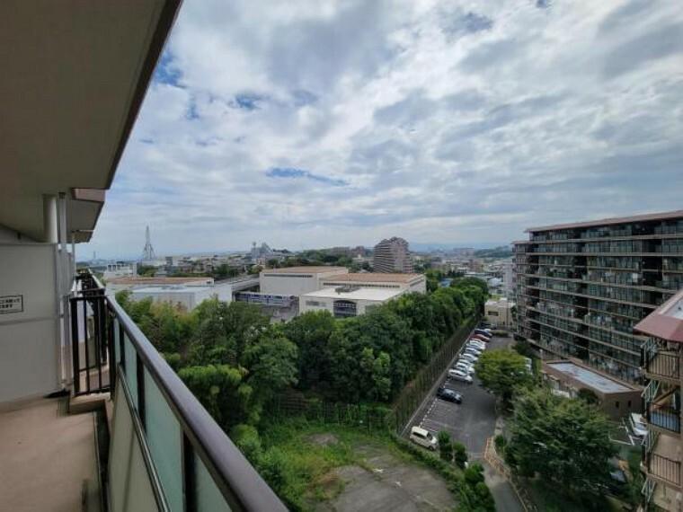 眺望 眺望!周囲に高い建物はありません!