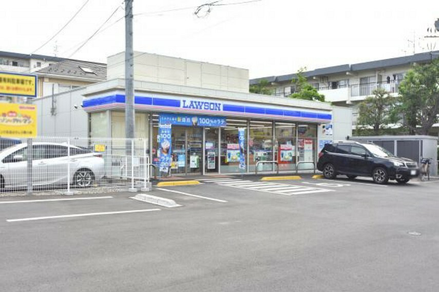コンビニ ローソン 志木ニュータウン店 約280m(徒歩4分)
