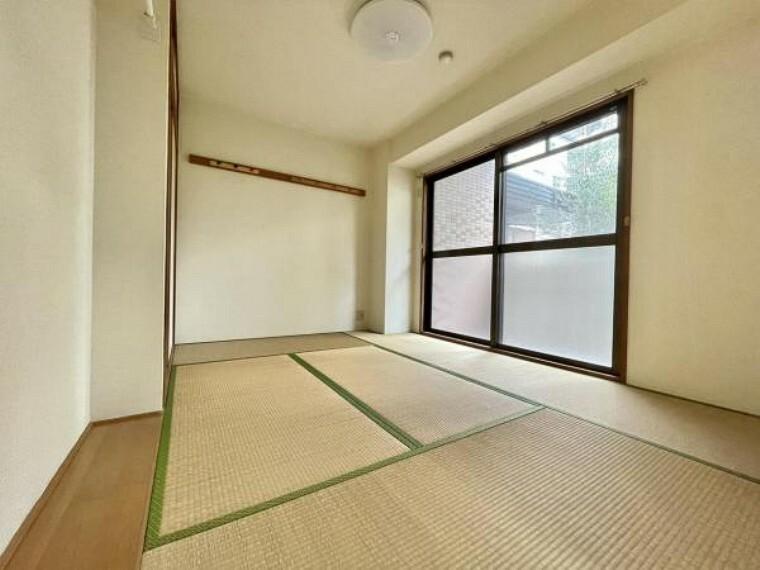和室 リビングと隣接して南向きで明るい和室 使い勝手もいいお部屋