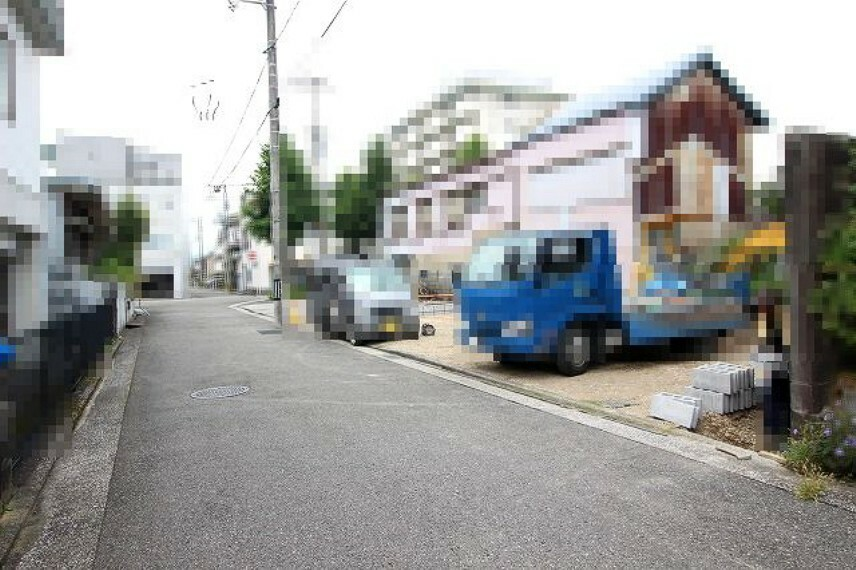 現況写真 →西