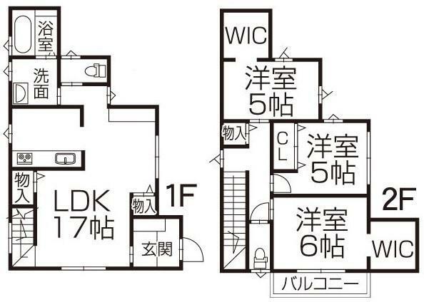 3LDK+WIC