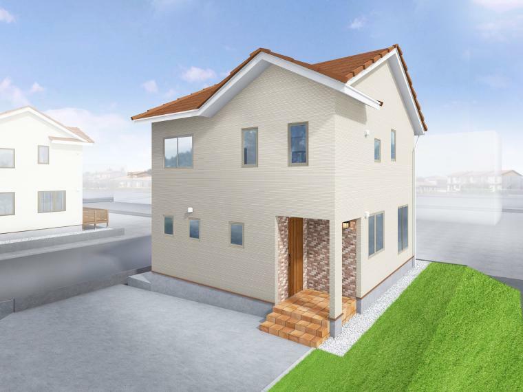 参考プラン完成予想図 近隣モデルハウス『花川北6条3丁目110-1『No.5ラナーク』公開中です! ぜひご見学ください。※HPよりご予約をお願いいたします。