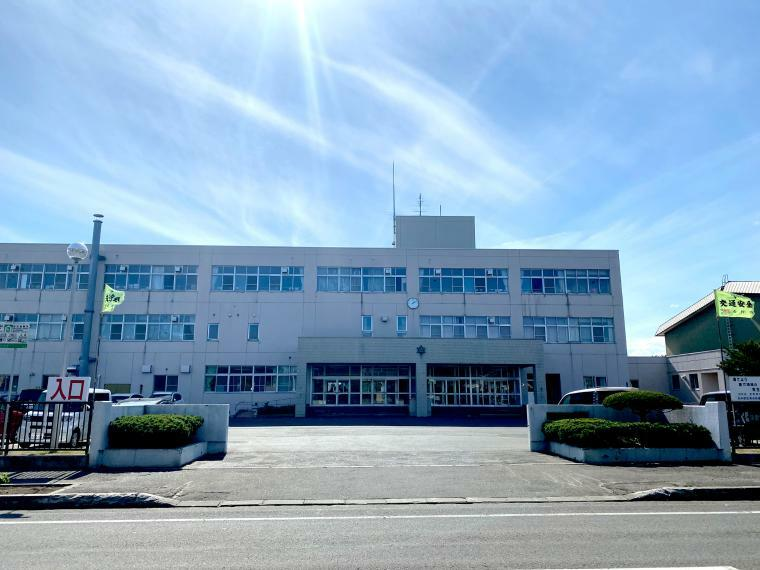 中学校 花川中学校