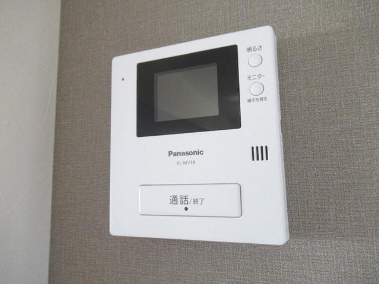 TVモニター付きインターフォン TVモニター付インターホン!お子さまのお留守番にも安心ですね!!