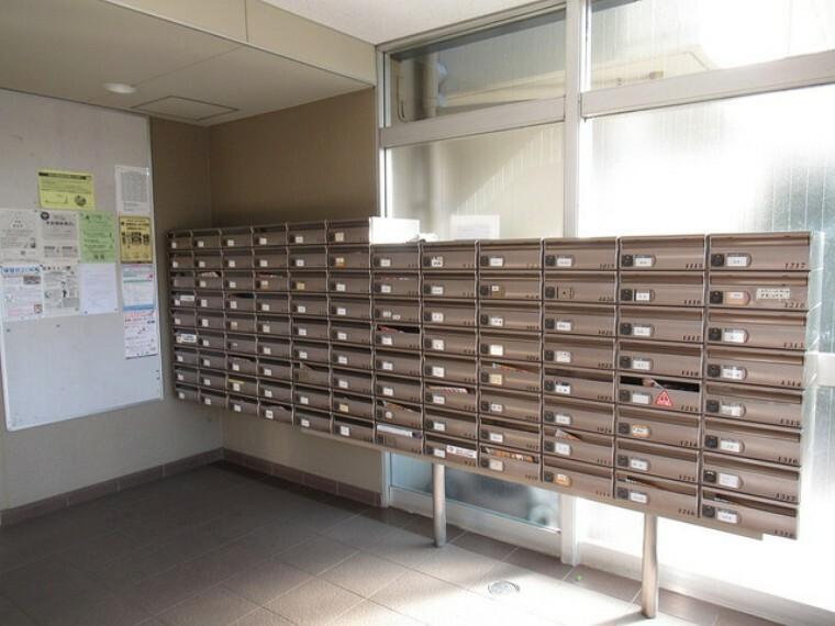 郵便受け 郵便受けです。