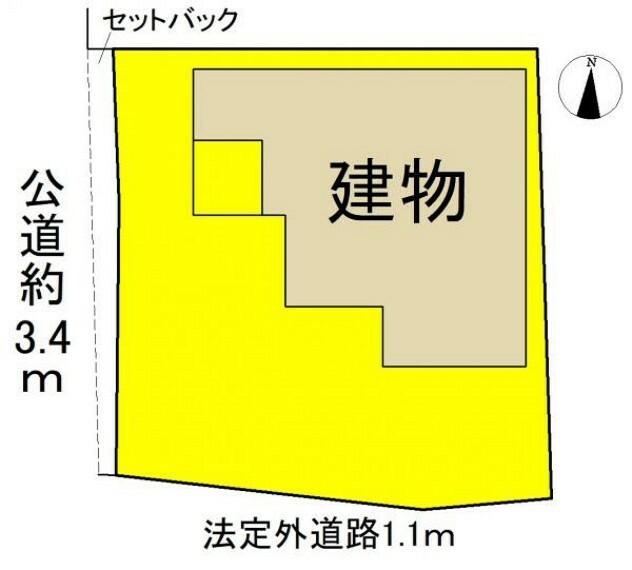 区画図 ●本物件は1号棟です●