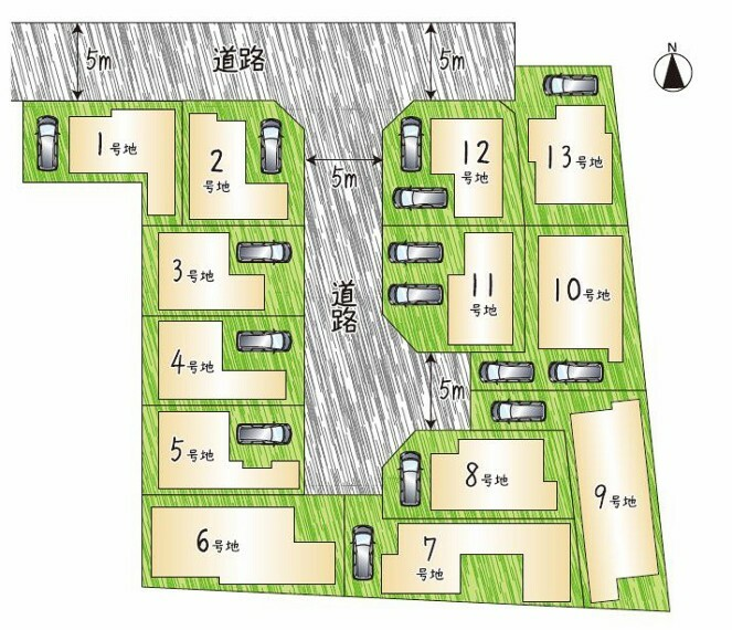 自然が多く子育てしやすい環境! 【鶴見区諸口2丁目】に新規分譲開始  土地建物価格:3680万円~ 10号地モデルハウス建築中