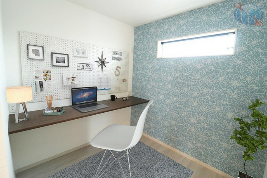 【施工写真/書斎】 最近注目されている書斎!リモートワーク(在宅勤務)にも対応できるお家