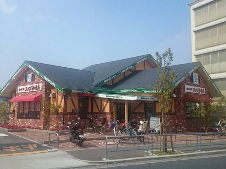 【喫茶店・カフェ】コメダ珈琲まで516m