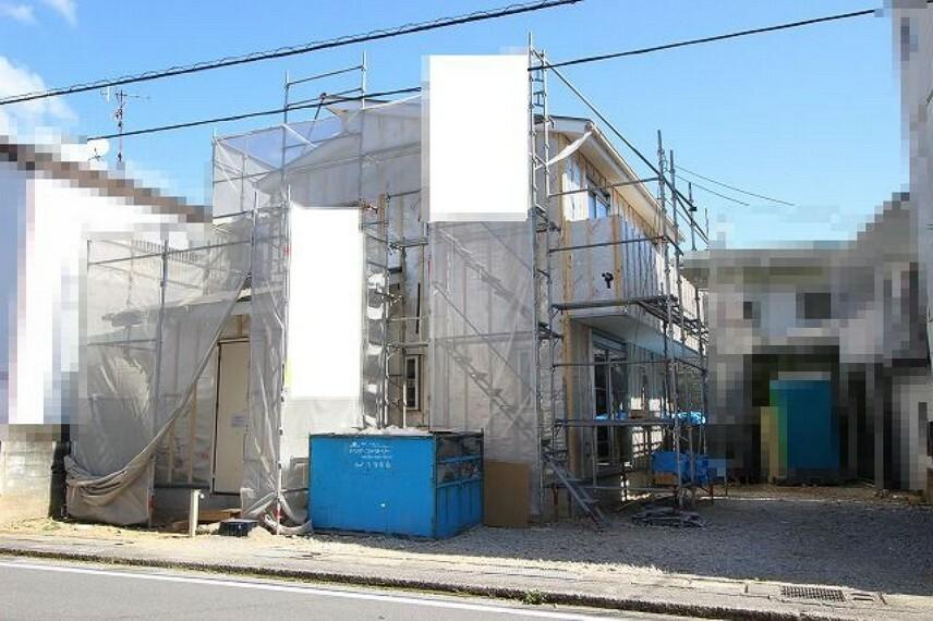 現況外観写真 2021.10月:建築中