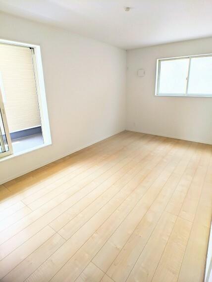 同社施工例収納付き居室