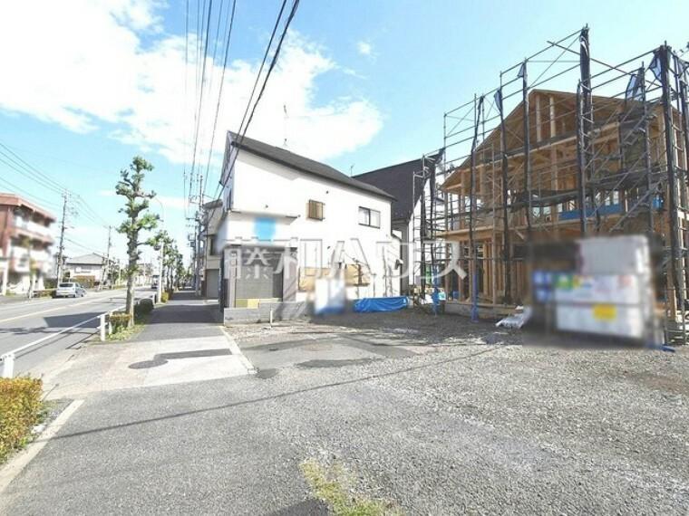 現況写真 接道状況および現場風景 【東大和市南街2丁目】
