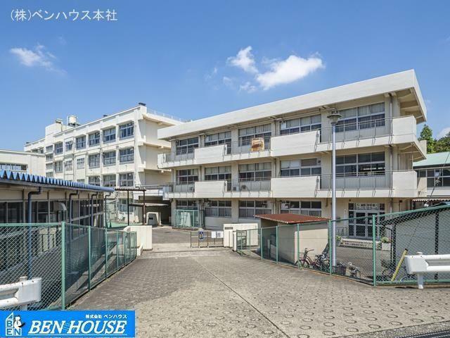 中学校 横浜市立東野中学校 距離550m