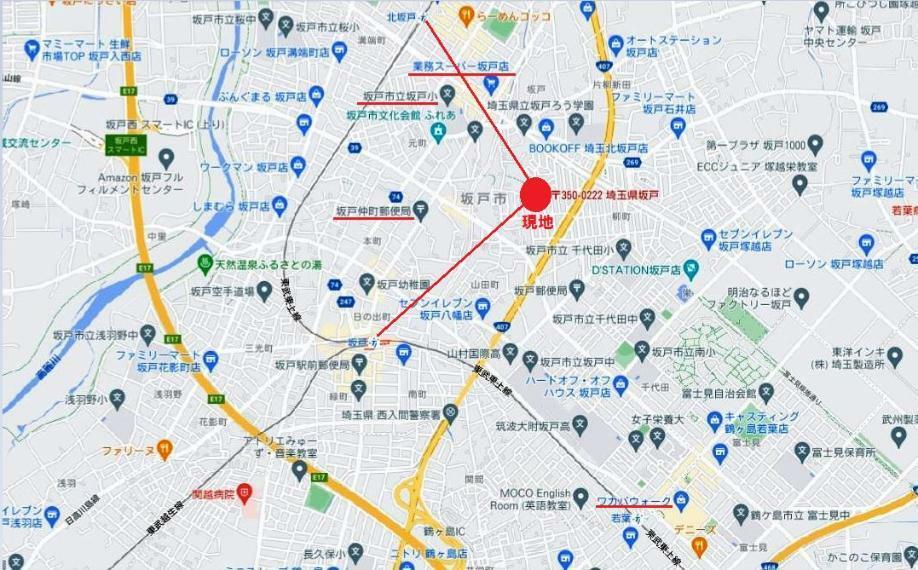 東武東上線・越生線「坂戸」駅徒歩18分! 東武東上線「北坂戸」駅徒歩18分! 2駅2路線利用可!副都心線・有楽町線の乗り入れもあり都心に一直線!通勤通学に便利です。